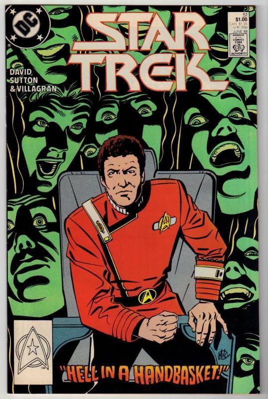 Star Trek #51 comic book near mint 9.4