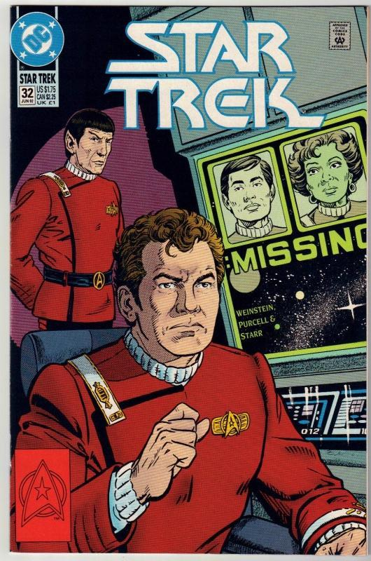 Star Trek #32 comic book mint 9.8