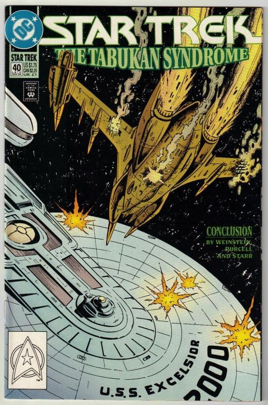 Star Trek #40 comic book near mint 9.4