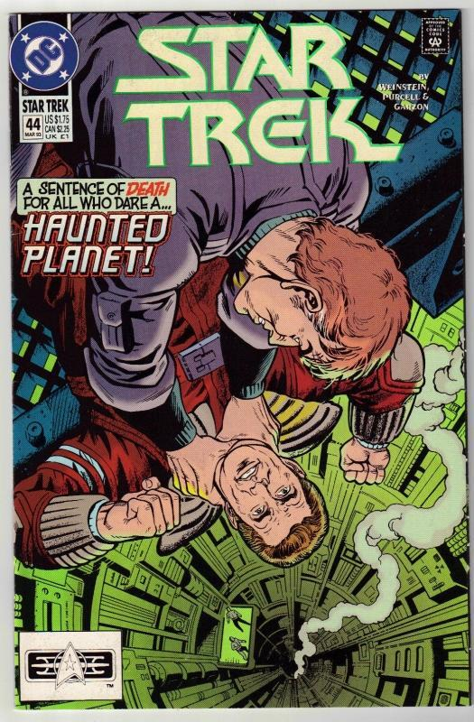 Star Trek #44 comic book near mint 9.4