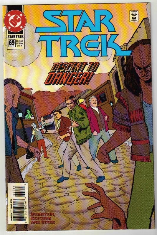 Star Trek #69 comic book near mint 9.4