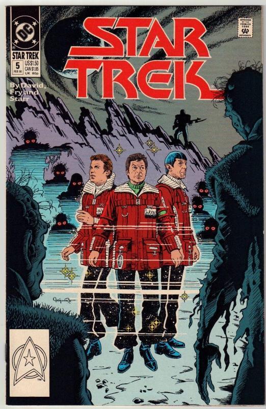 Star Trek #5 comic book near mint 9.4