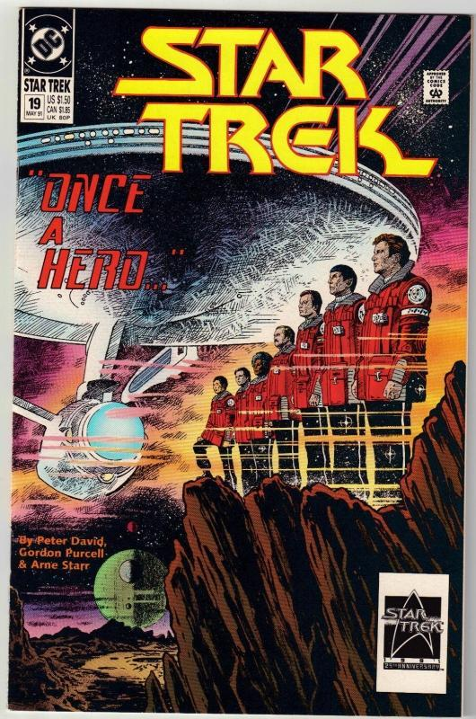 Star Trek #19 comic book mint 9.89