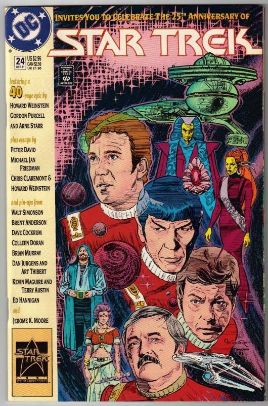 Star Trek #24 comic book mint 9.8