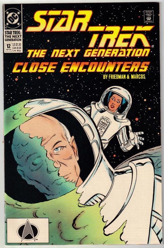 Star Trek The Next Generation #12 comic book near mint 9.4