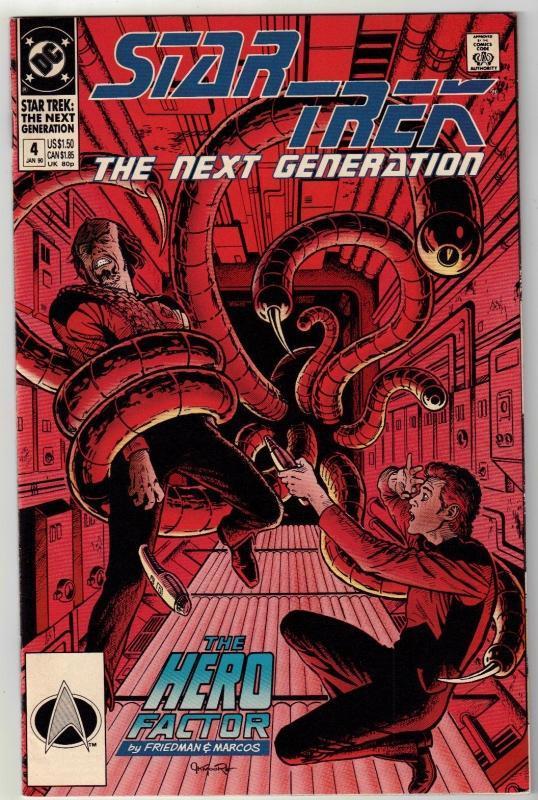 Star Trek The Next Generation #4 comic book near mint 9.4