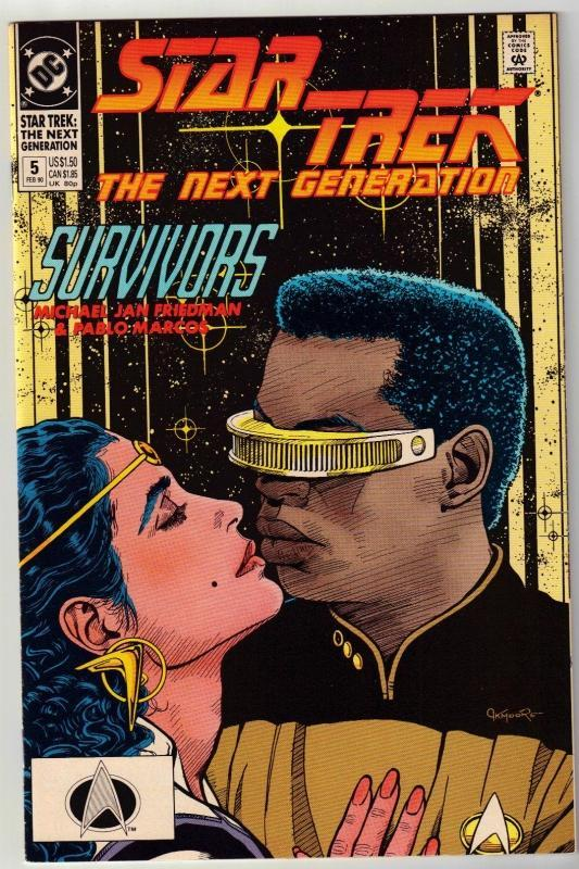 Star Trek The Next Generation #5 comic book near mint 9.4
