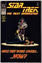 Star Trek The Next Generation #6 comic book near mint 9.4