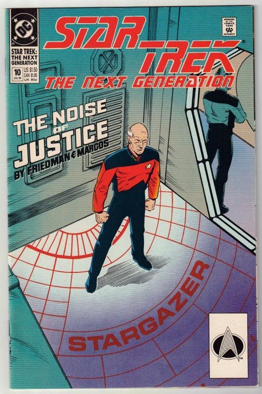 Star Trek The Next Generation #10 comic book near mint 9.4