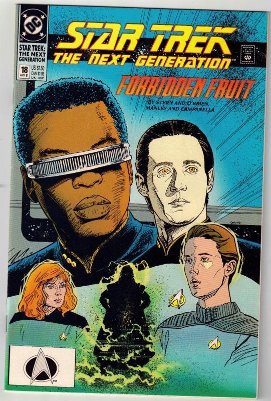 Star Trek The Next Generation #18 comic book near mint 9.4