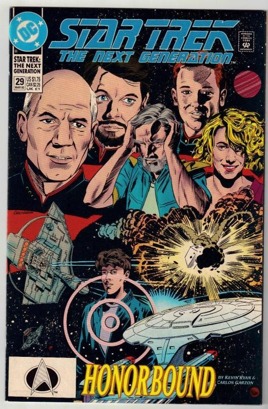 Star Trek The Next Generation #29 comic book near mint 9.4