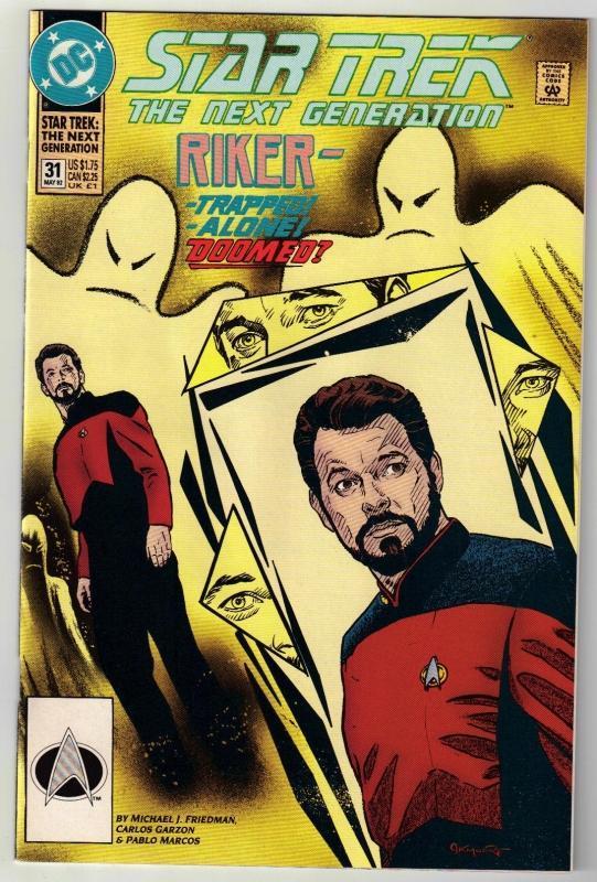 Star Trek The Next Generation #31 comic book mint 9.8