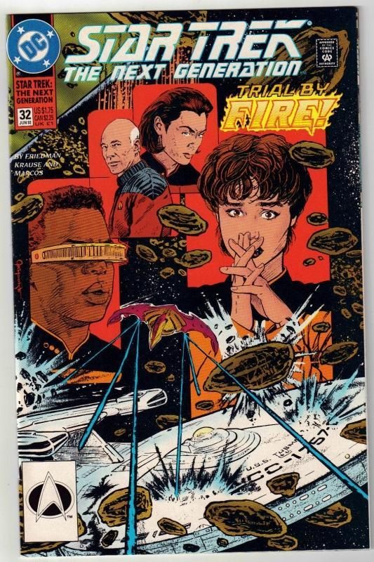Star Trek The Next Generation #32 comic book mint 9.8