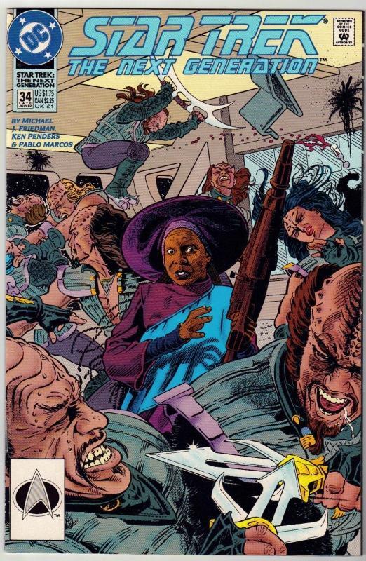 Star Trek The Next Generation #34 comic book near mint 9.4