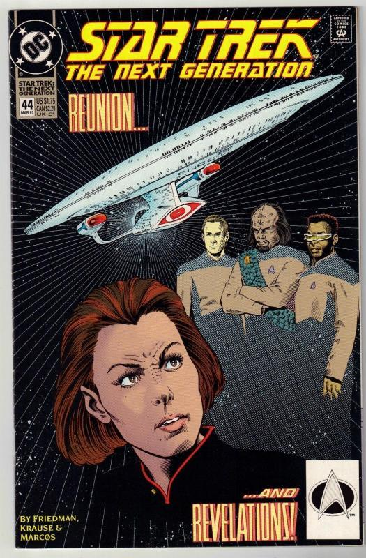Star Trek The Next Generation #44 comic book near mint 9.4