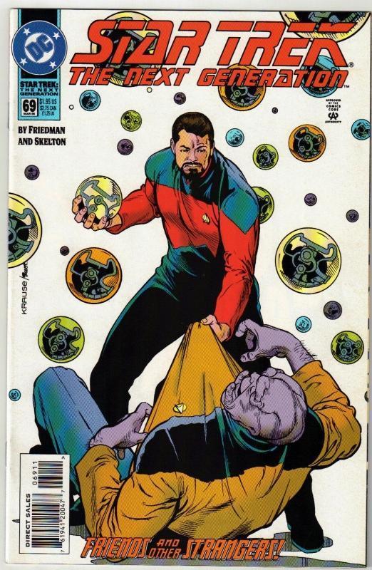 Star Trek The Next Generation #69 comic book near mint 9.4