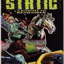 Static #17 comic book near mint 9.4