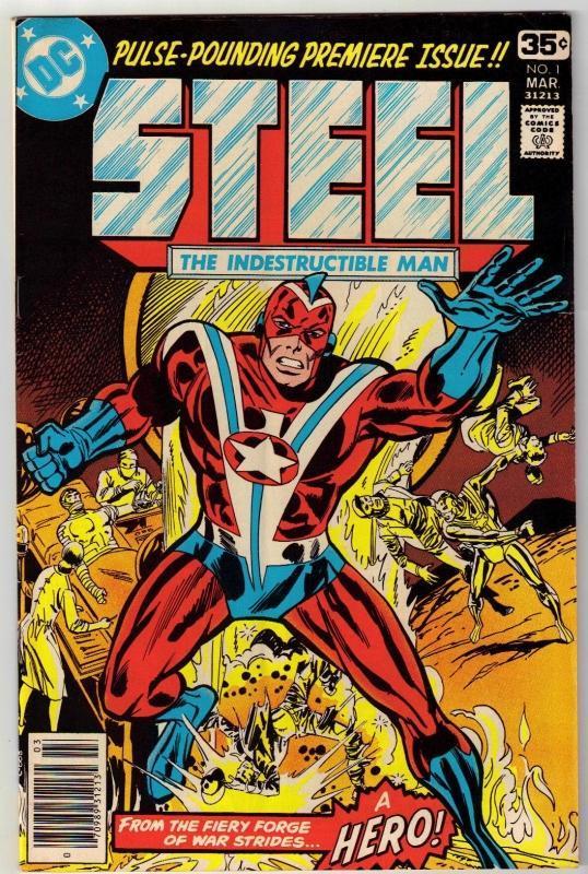 Steel #1 comic book very good plus 4.5