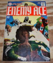 Star Spangled War Stories presents Enemy Ace #145 comic book fine 6.0