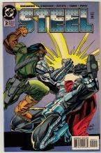 Steel #2 comic book near mint 9.4