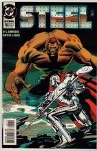 Steel #5 comic book near mint 9.4