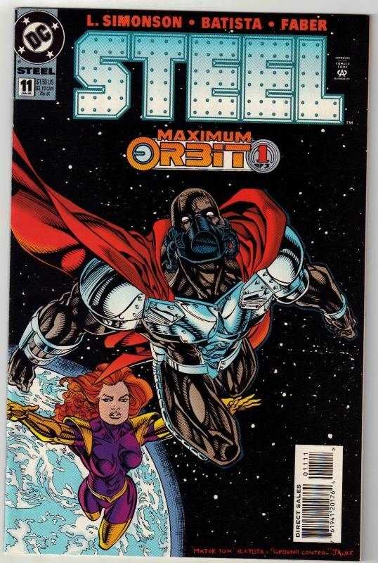 Steel #11 comic book near mint 9.4
