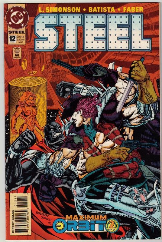 Steel #12 comic book near mint 9.4