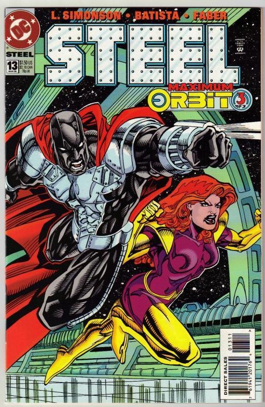 Steel #13 comic book near mint 9.4