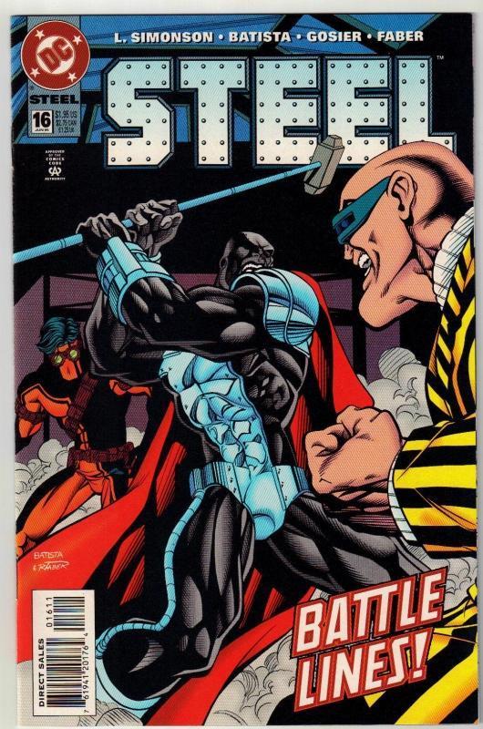 Steel #16 comic book near mint 9.4