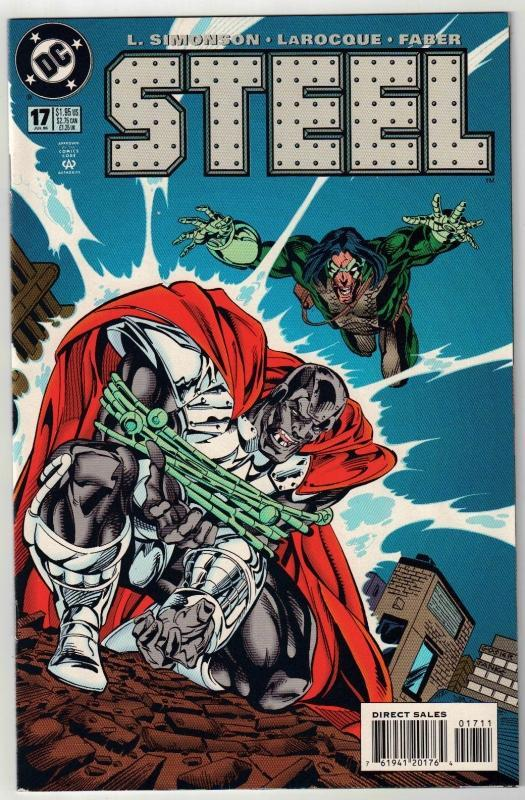 Steel #17 comic book near mint 9.4