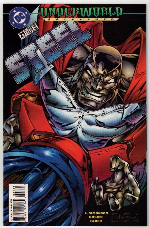 Steel #21 comic book near mint 9.4