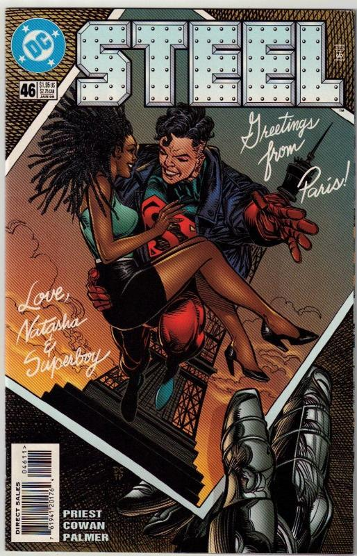 Steel #46 comic book near mint 9.4