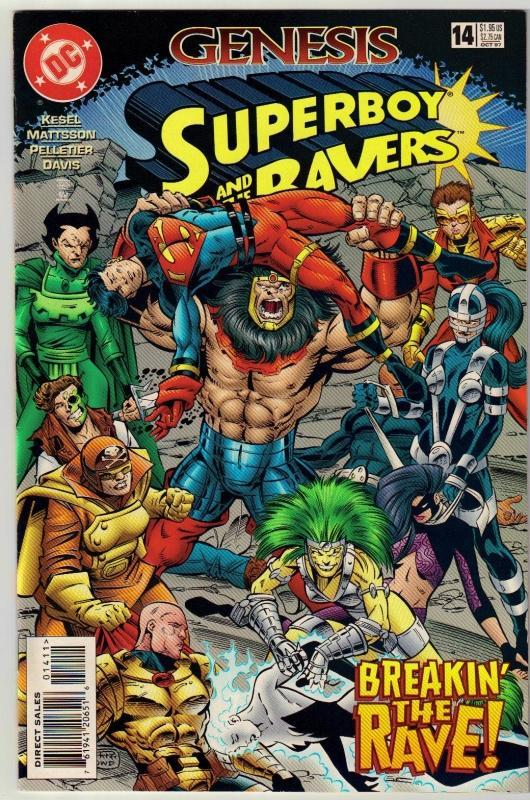 Superboy #14 comic book near mint 9.4