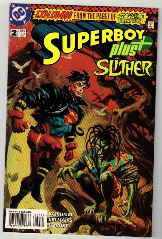 Superboy plus!! #2 comic book near mint 9.4
