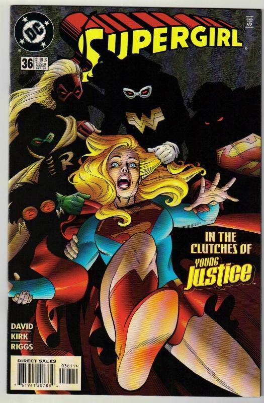 Supergirl #36 comic book near mint 9.4
