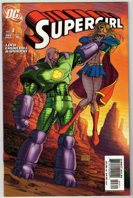 Supergirl #3 comic book mint 9.8