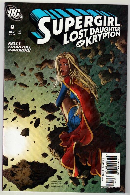 Supergirl #9 comic book mint 9.8