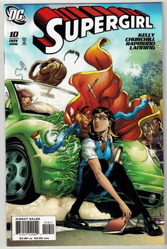 Supergirl #10 comic book mint 9.8