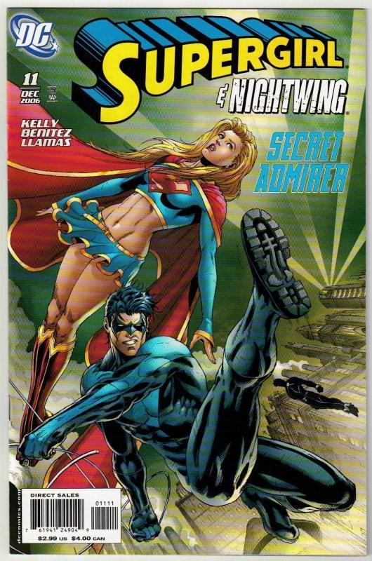 Supergirl #11 comic book near mint 9.4