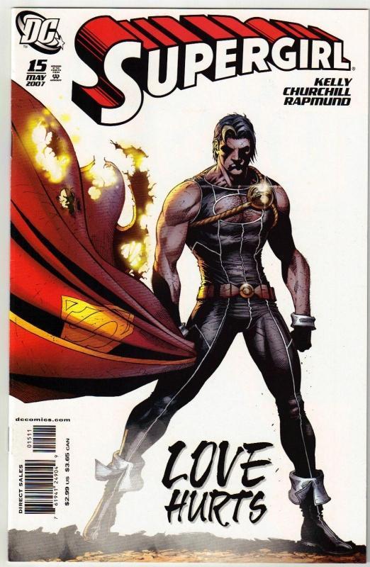 Supergirl #15 comic book near mint 9.4