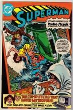 Superman Radio Shack Giveaway comic book very fine 8.0