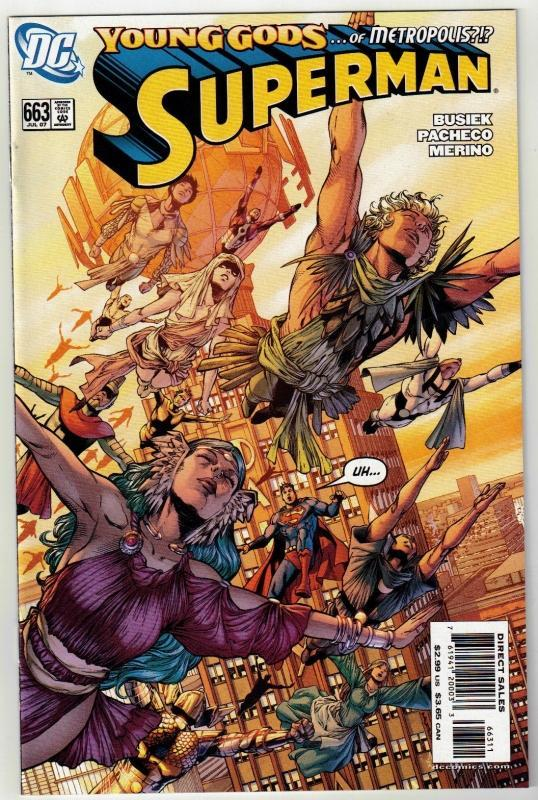 Superman #663 comic book mint 9.8
