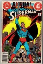 Superman annual #10 comic book near mint 9.4