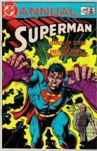 Superman annual #12 comic book near mint 9.4