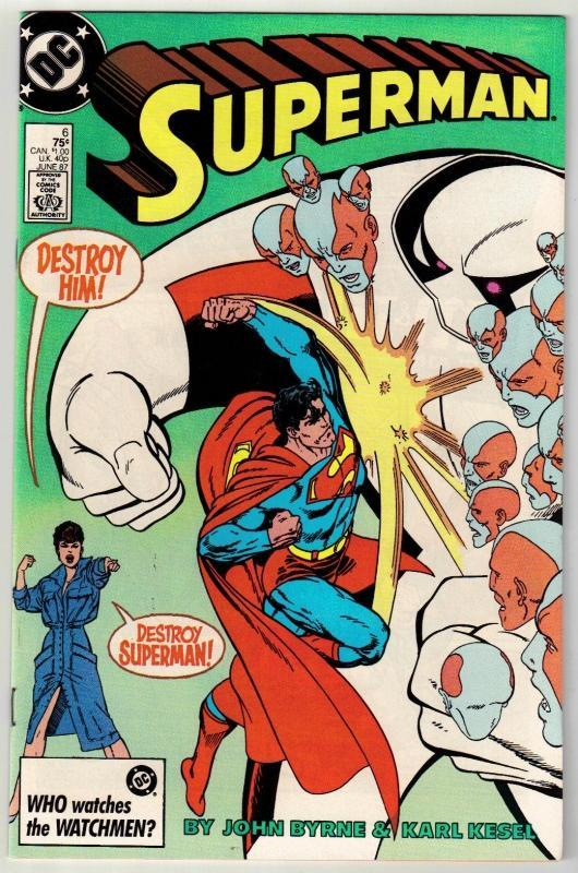 Superman #6 comic book near mint 9.4