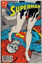 Superman #17 comic book very fine 8.0