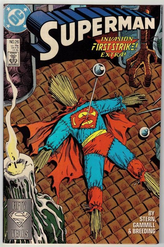 Superman #26 comic book near mint 9.4