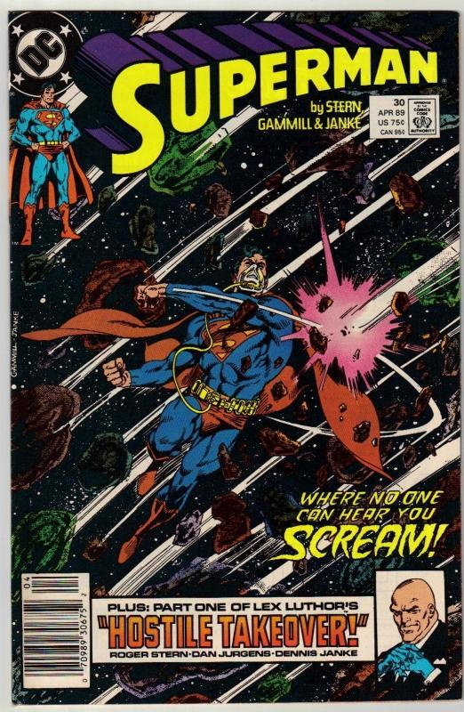 Superman #30 comic book near mint 9.4