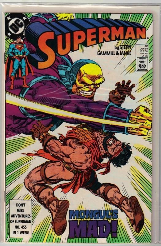 Superman #32 comic book mint 9.8