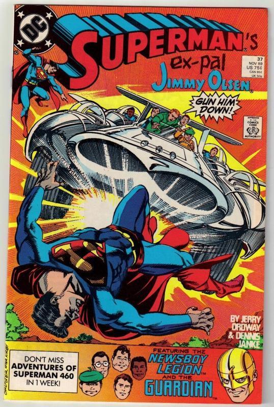 Superman #37 comic book near mint 9.4